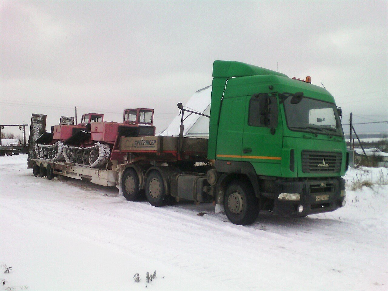 маз 463